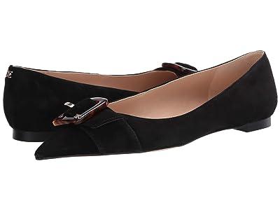 Sam Edelman Sonja (Black Suede Leather) Women