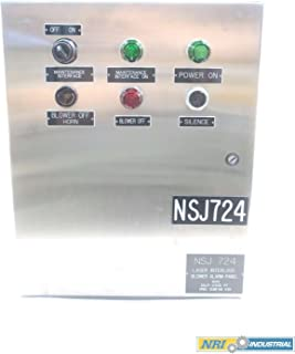 HOFFMAN C-SD20166SS Concept Stainless Electrical Enclosure 20 X 16 X 6IN D581111