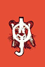 Joy- Lioness Notebook: Joy- Lioness Vibes Infrared Red/Black/White: Stylish Lined Notebook