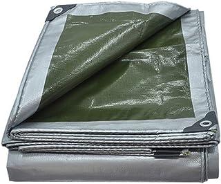 Impermeable Lona Protector solar Piel gruesa Pabellón de la cortina Aislante Cubierta plástica a prueba de lluvia Hojas de tierra del automóvil Muebles de jardín A prueba de humedad Jardín Techo Carpa