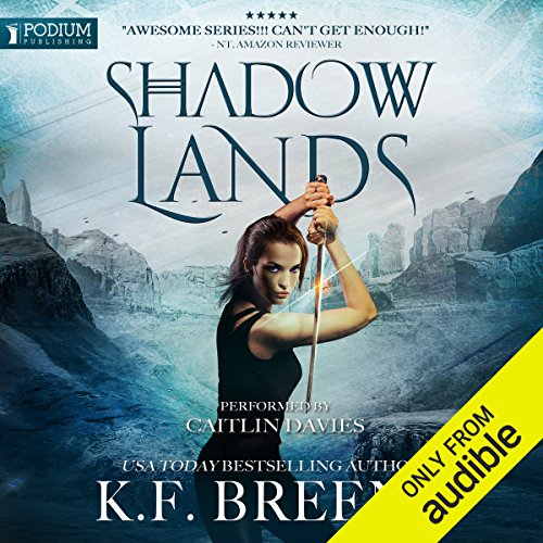 Shadow Lands audiobook cover art