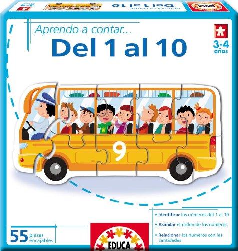 Educa Borrás - Aprendo A Contar... del 1 Al 10 (14233)