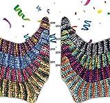 Online Supersocke 299 Fun Color - Ovillo de lana para calcetines (8 ovillos...