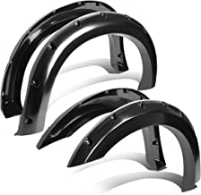 DNA MOTORING WF-F25011-BK Side Wheel Fender Flares, Pack of 4