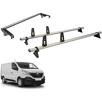 Rhino Delta 2 Roof Bars Ladder Roller for Vauxhall Vivaro Tailgate 2014 on