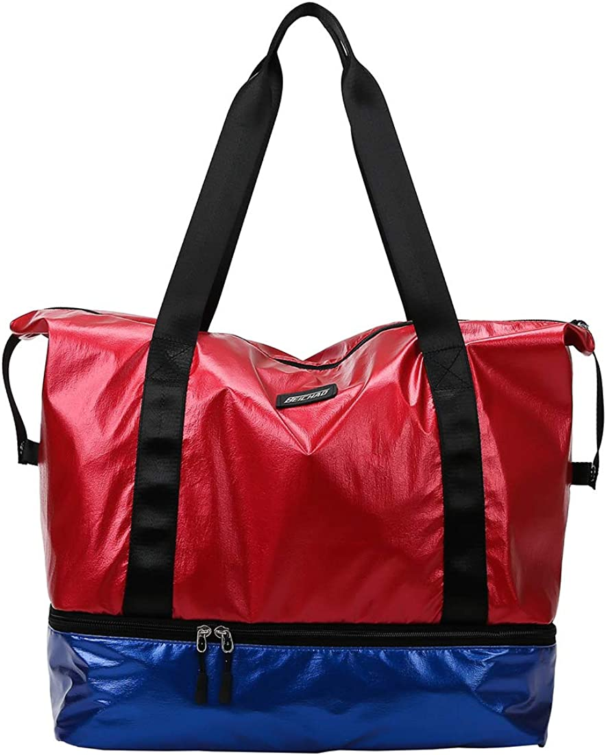 fancyfree Double Layers Bag Large S Bottom Limited price sale Tote Travel with Louisville-Jefferson County Mall