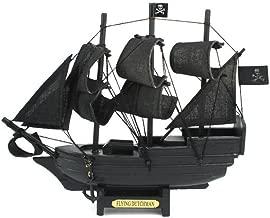 Hampton Nautical  Flying Dutchman Model Pirate Ship, 7