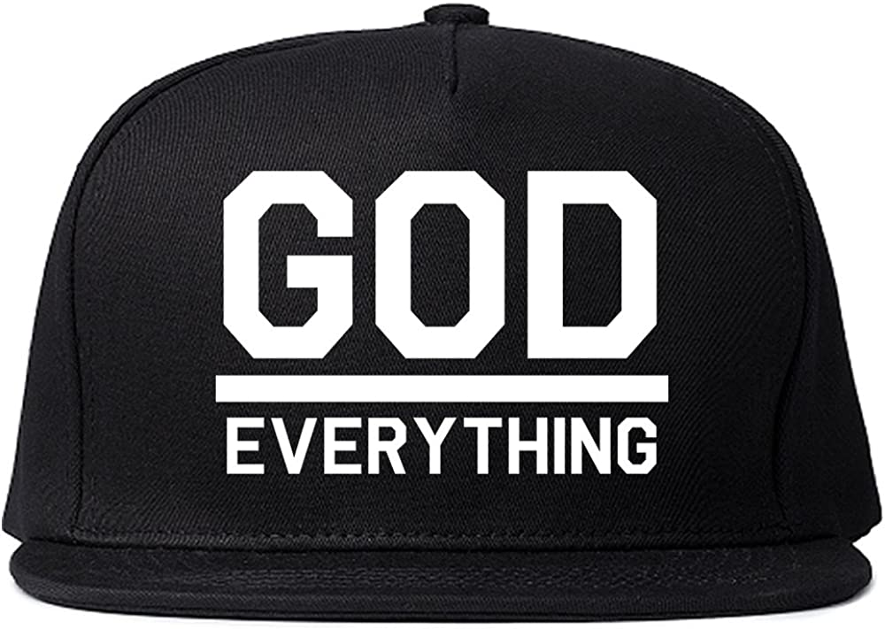 Kings Of NY God Over Everything Mens Snapback Hat