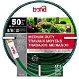 Black+Decker Bond Manufacturing 70201 50-ft x 5/8-in Medium Duty Garden Hose, Green