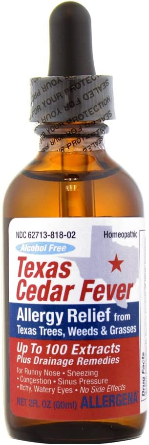 PROGENA Popular brand Texas Cedar Fever Cheap mail order sales Releif FZ Allergy 2