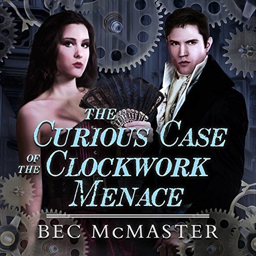 The Curious Case of the Clockwork Menace audiobook cover art