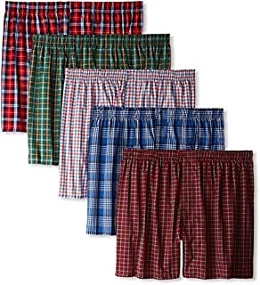 Hanes Men's 5 Pack Ultimate Tartan Boxers - Colors May Vary (B00ACIFM94) | Amazon price tracker / tracking, Amazon price history charts, Amazon price watches, Amazon price drop alerts