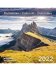 Dolomiti. Calendario 2022 (formato cartolina). Ediz. italiana, inglese e tedesca
