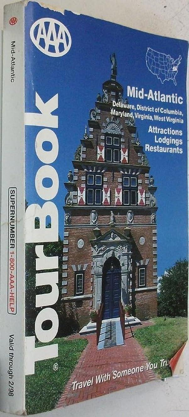 AAA TourBook Mid-Atlantic/ Valif Thru February 1998 (Attractions, Lodgings, & Restaurants)