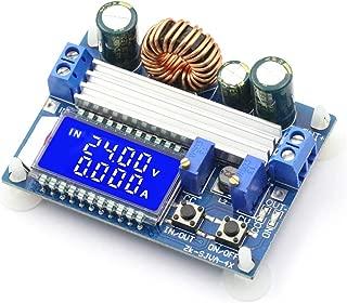 CenryKay DC-DC Buck Boost Converter Display 5V-30V to 0.5 – 30V 3A LCD Digital Voltmeter Ammeter Adjustable Boost Drop