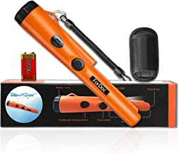 ForDoc Waterproof Pinpoint Metal Detector pinpointer - 2019 Fully Waterproof Design Metal detectors for Adults Kids with Belt Holster