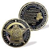 Saint Michael Police Prayer Law Enforcement Challenge Coin