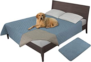 Easy-Going 100% Waterproof Dog Bed Cover Furniture Protector Sofa Cover Non-Slip Washable Reusable Incontinence Bed Underp...