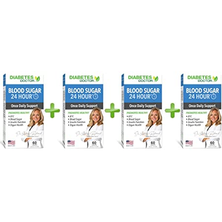 Diabetes Doctor Daily Support - 7 in 1 Blend for Daily Diabetes Needs and High Blood Sugar Regulation - Targets Insulin Resistance and Sensitivity, Organ Health, and Nutritional Deficiencies (4 Pack)