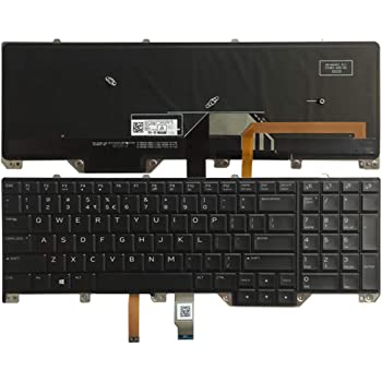 Amazon Com New Laptop Replacement Parts For Dell Alienware 17 R4 0d81k5 0x2j1t 08g7x7 Us Layout Keyboard Computers Accessories