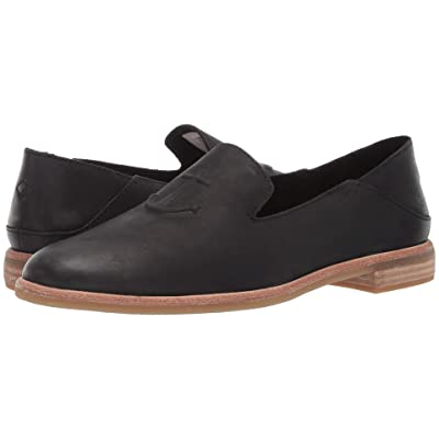 Sperry Seaport Levy Leather (Black) Women