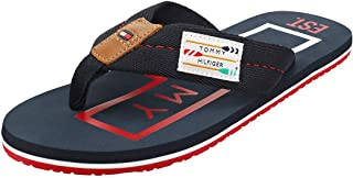 Tommy Hilfiger Men's Hilfiger Badge Beach Sandal, Red (Regatta Red Xit), 7 UK