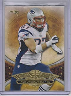 2013 Topps Triple Threads #82 Rob Gronkowski Patriots NFL Football Card NM-MT