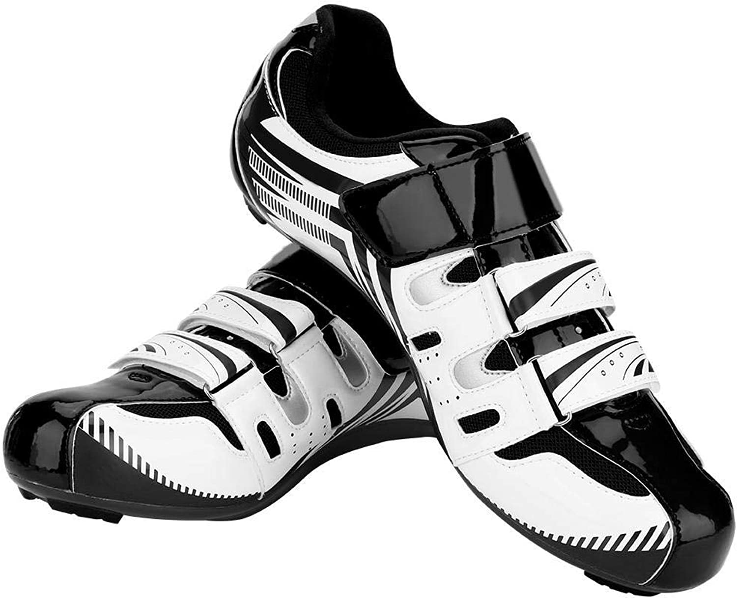 Dioche Mountain Bike shoes, Road Bike Anti-Skid SPD System Lock Riding Cycling shoes Men Adult (1 Pair)