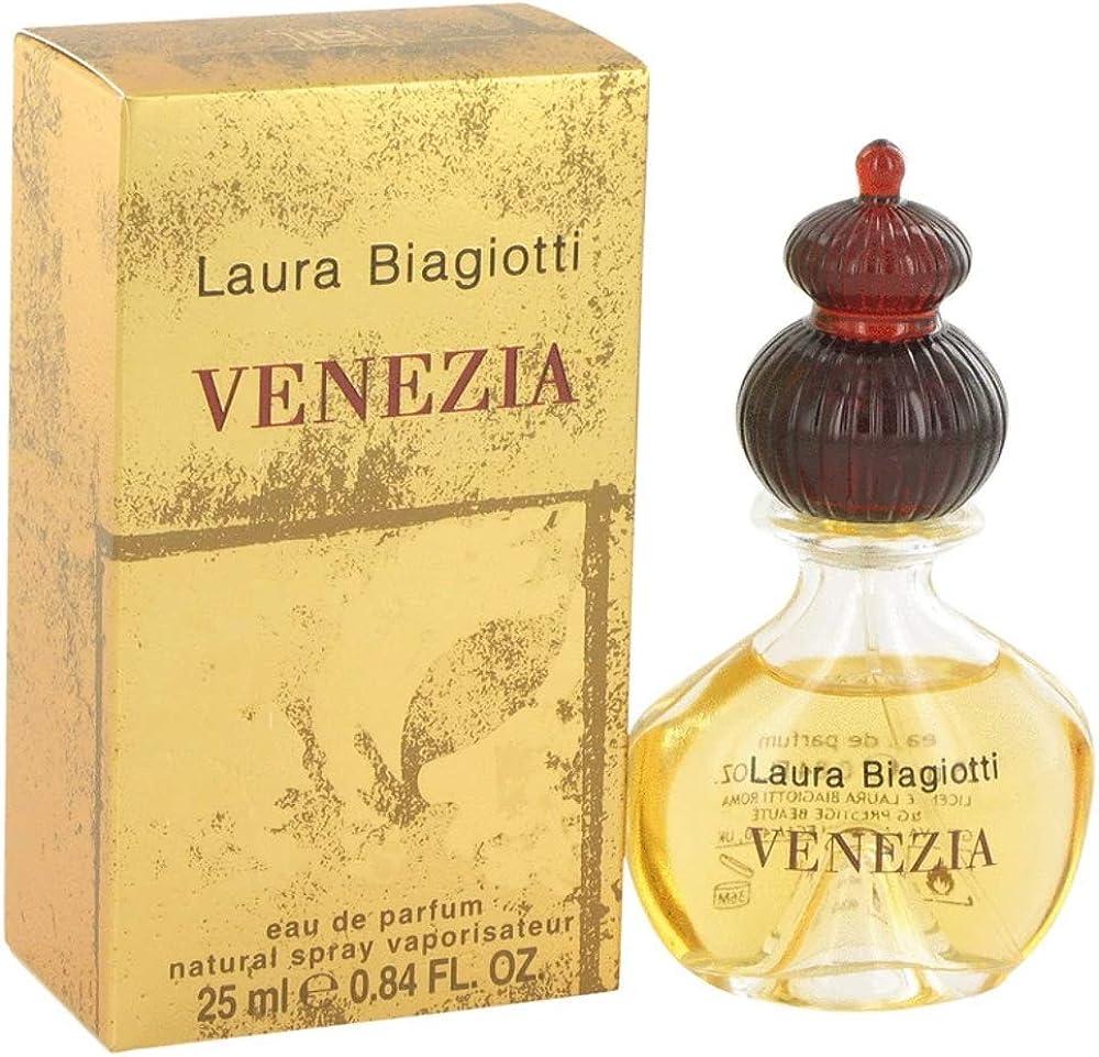 Laura biagiotti, venezia ,eau de parfum da donna,vapo, 25ml 737052406565