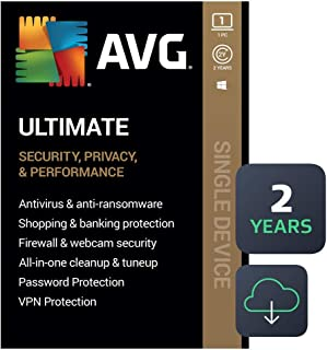 AVG Ultimate 2020 | Antivirus+Cleaner+VPN | 1 PC, 2 Years [Download]