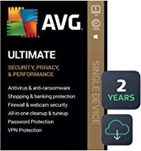AVG Ultimate 2020 | Antivirus+Cleaner+VPN | 1 PC, 2 Years [Download]