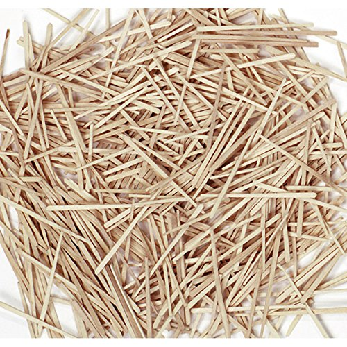 Chenille Kraft 369001 Flat Wood Toothpicks Wood Natural 2500/Pack CKC369001 CK369001
