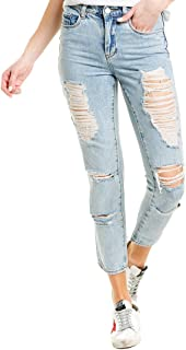 Blank NYC Women's The Rivington High Rise Tapered Jeans in Acid Trip