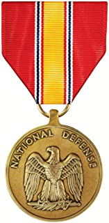 United States Military Armed Forces Full Size Medal - National Defense