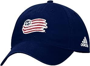 adidas New England Revolution MLS Team Basics Slouch Adjustable Hat - Navy