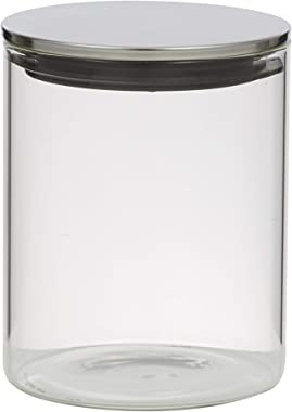 Davis & Waddell D3050 Essentials Glass Canister W/Stainless Steel Lid