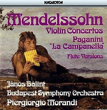Mendelssohn / Paganini: Violin Concertos Arranged for Flute