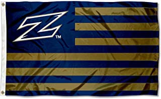 Akron Zips American and Stripes Nation Flag