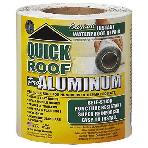 """Cofair QR625 Quick Roof Pro Aluminum 6"""" x 25'"""