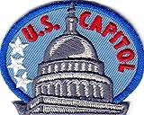 'U. S. CAPITOL' - WASHINGTON D.C. - UNITED STATES - IRON ON EMBROIDERED PATCH