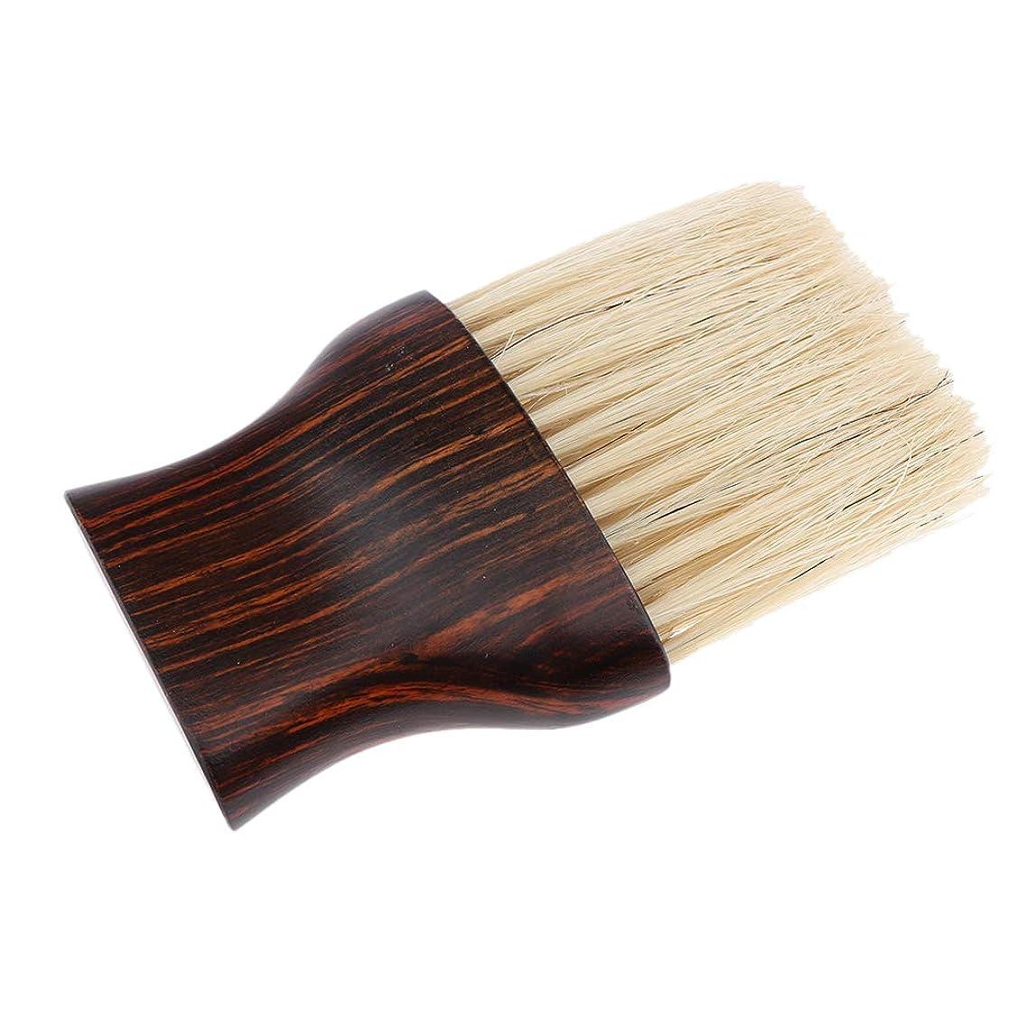 宣言決定のどSharplace 理髪 ネック フェイス ダスターブラシ ヘアカット ヘアブラシ プロ ヘアサロン
