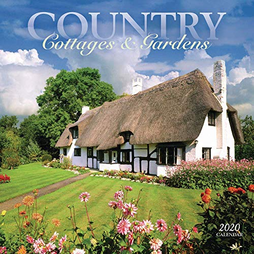 Country Cottages & Gardens Square Wall Calendar 2020