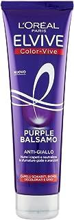 L'Oréal Paris Balsamo Antigiallo Color Vive Purple per Capelli Schiariti, Biondi, Decolorati e Grigi, 150ml