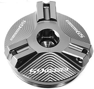 JDDRCASE Moto CNC Anteriore e del Freno Posteriore Fluid Cilindro Maestro Serbatoio della Copertura della Protezione for Yamaha MT07 MT-07 FZ07 FZ-07 2014-2020