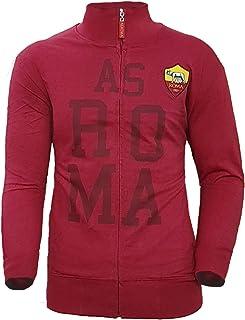 AS Roma Felpa Full Zip Bianca Uomo R13773