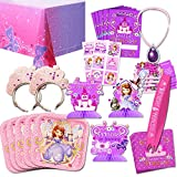 Disney Sofia the First Party Supplies Value Set-- Birthday Party Plates, Cups, Napkins and More!