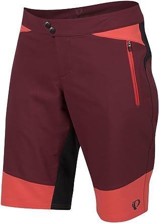 Pearl iZUMi W Summit Shorts, Port/Cayenne, 2