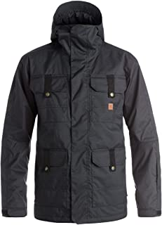 DC Servo Men's Skiing Snowboard Jacket - Black