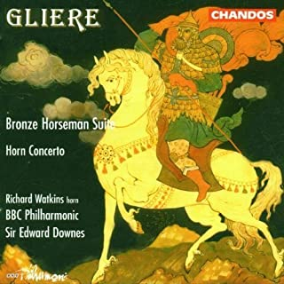 Bronze Horseman Suite / Horn Concerto by Gliere, R. (1995) Audio CD
