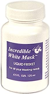 Grafix 4-1/2-Ounce Incredible White Mask Liquid Frisket (WM4)